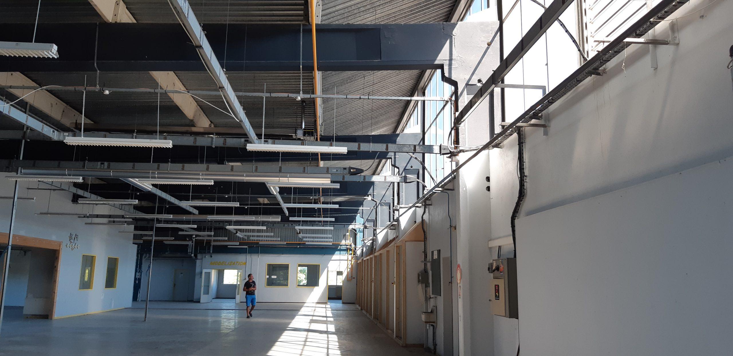 Réaménagement du bâtiment Print Conseil, Romagnat, maîtrise d'oeuvre Cairn