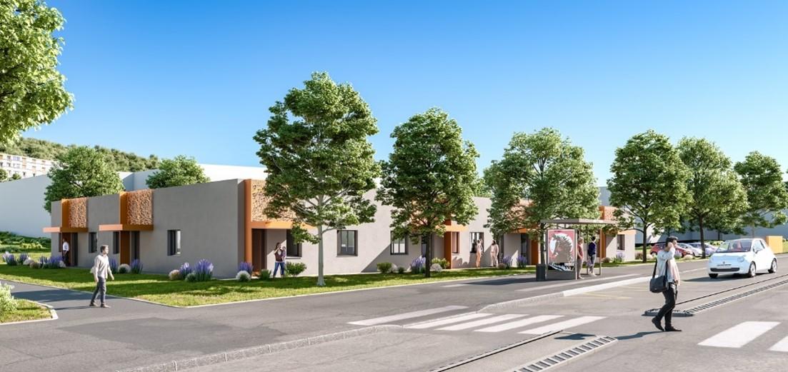 Construction du bâtiment Pôle Santé Romagnat, maître d'oeuvre Cairn moe