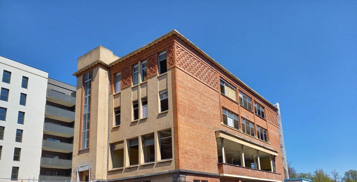Réhabilitation du bâtiment Hôtel Dieu Emile Roux, Clermont-Ferrand, Maître d'Œuvre Cairn